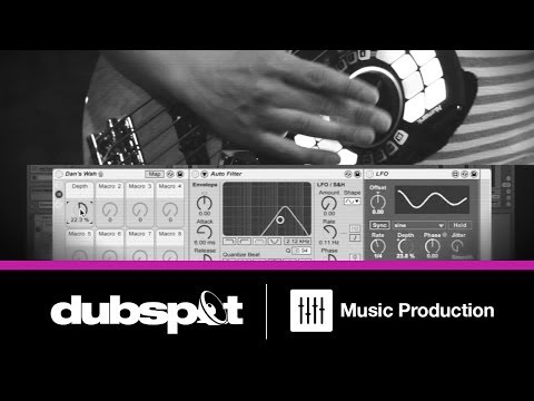 Ableton Live Tutorial: Effects Processing For Live Instruments - Bass Guitar W/ Dan Freeman