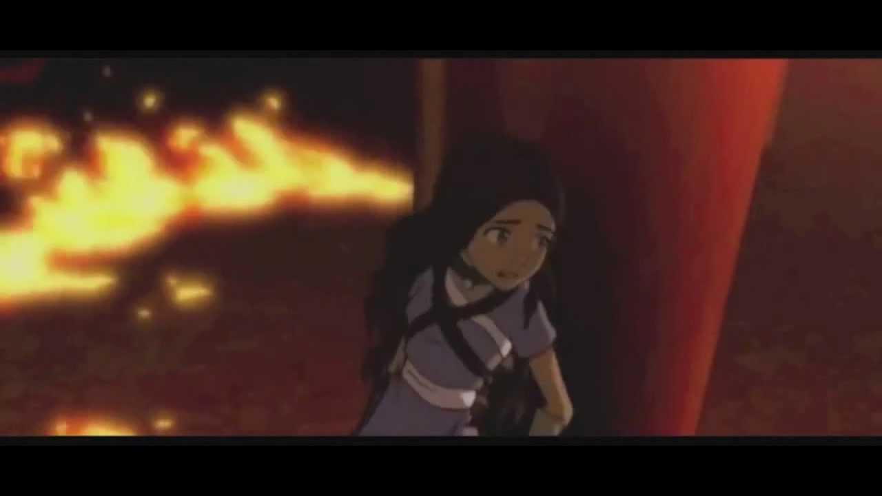 Zuko Kissing Katara Zuko Saves Katara(hd