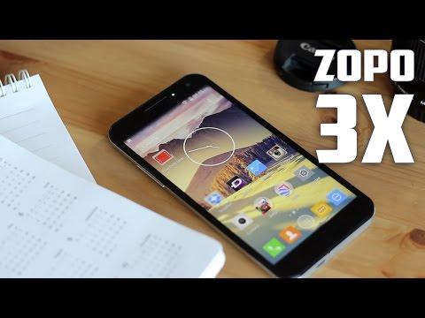 Zopo 3X, Review en espa�ol