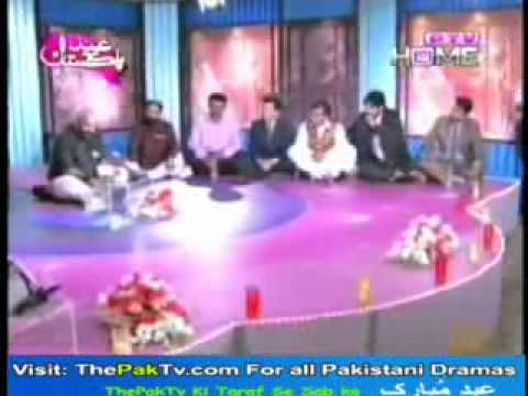 Khalid Masood Khan Bazm-e-tabasum 2012 Ptv video