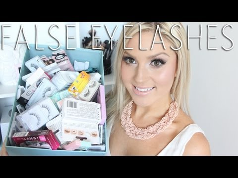 All About False Eyelashes! ♡ My Favorites & How To Apply Falsies - Application