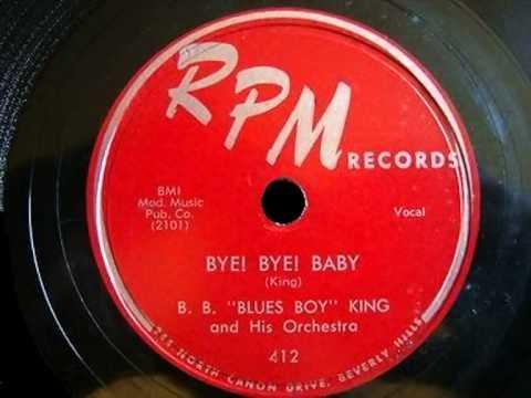 B.B. King - Bye Bye Baby