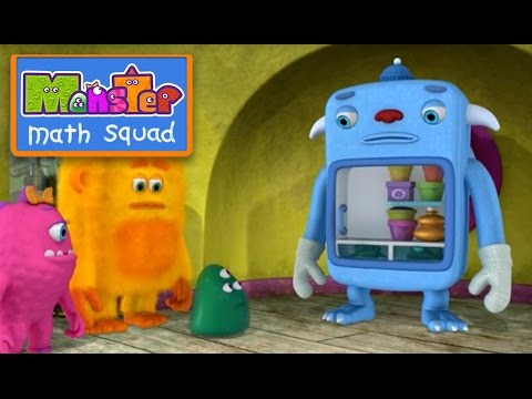 Monster Math Squad | FULL EPISODE | Sneeze Freeze | Learning Numbers Series