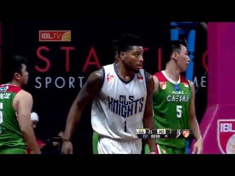 IBL 2016 CLS Knights Surabaya vs Pacific Caesar Surabaya