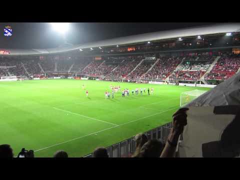 AZ - sc Heerenveen - Applaus Marco van Basten