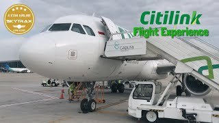 4 STAR Low-Cost Airlines | Citilink Indonesia, Penang to Jakarta | QG511