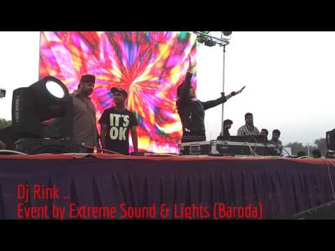 Dj RInk @ SVIT COLLEGE Event by Extreme sound and lights