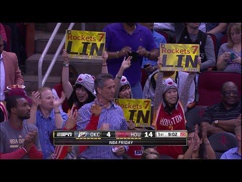 Jeremy Lin vs Oklahoma City Thunder 2014-04-04