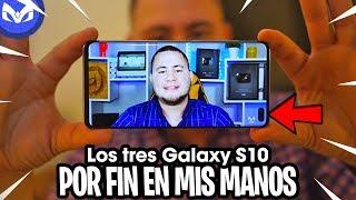 Galaxy S10, Galaxy S10 Plus y Galaxy S10e PRIMERAS IMPRESIONES EN MANOS