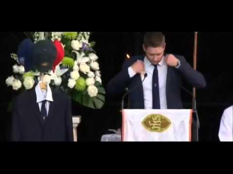 Phillip Hughes funeral: Michael Clarke's emotional farewell speech at Phillip Hughes funeral (FULL)