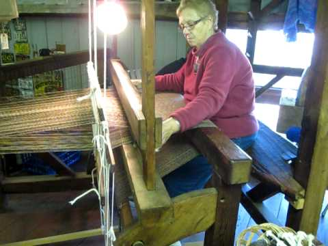 Fryeburg Fair Barn Loom by Jane Lounsbury