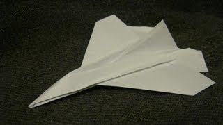 12 Paper Aircraft - 12 - Jet Fighter.