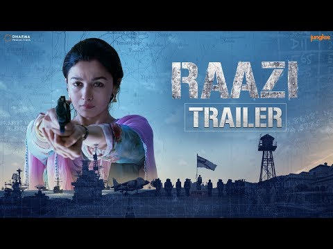 'Raazi' Official Trailer | Alia Bhatt, Vicky Kaushal | Directed by Meghna Gulzar | 11th May 2018 thumbnail