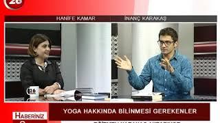 Haberiniz Olsun | Yoga Eğitmeni İnanç Karakaş