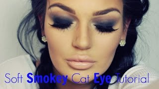 Soft SMOKEY Cat EYE TUTORIAL