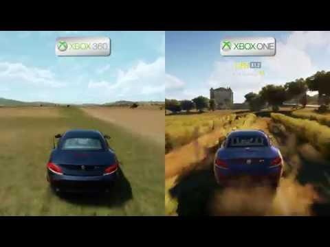 Forza Horizon 2 - Xbox 360 vs Xbox One - Map Comparison