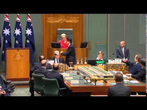 Shinzo Abe Addresses Australian Parliament (July 8, 2014)