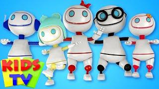 Robots Finger Family | Daddy Finger | Kids Tv Fnger Family | Fingers Family