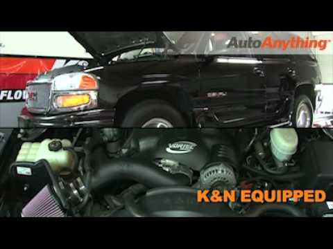 How to Install K&N Intake on GMC Yukon Denali 6.0L 2001-2004 Body