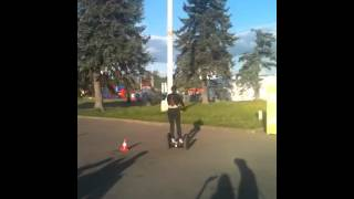 Segway testing @ Moscow VDNH
