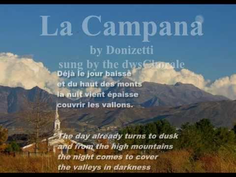 Доницетти Гаэтано - La campana
