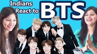 Indians React to K-Pop (Korean Pop) [BTS Band] | Say Whaaat!