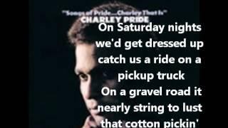 Charlie Pride- Mississippi Cotton Pickin Delta Town