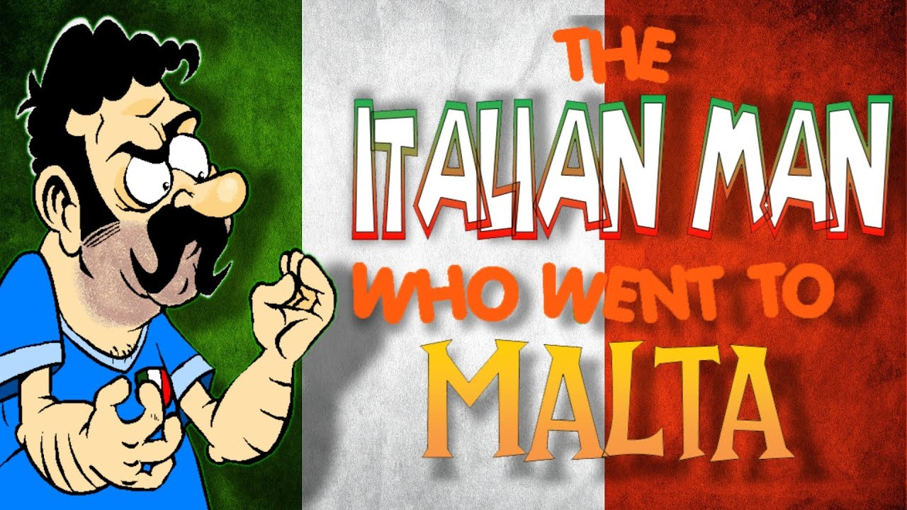 the italian man who went to malta   official animated
