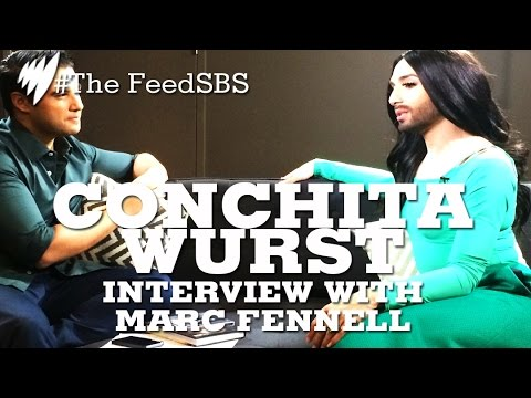 Conchita Wurst interview with Marc Fennell I The Feed