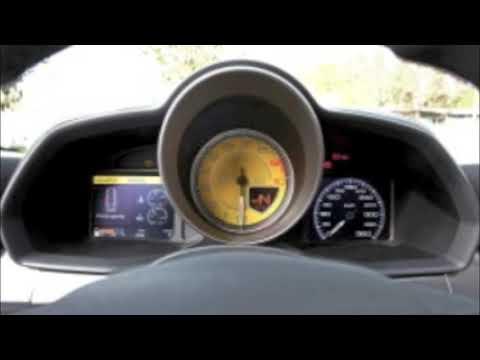 Máxima Velocidad - Ferrari  F430 Scuderia   360km/h