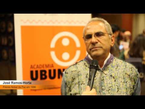 Mensagem de José Ramos Horta aos candidatos à Academia Ubuntu