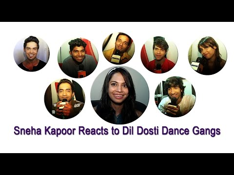 Sneha Kapoor Reacts To Dil Dosti Dance Gangs Wishes video