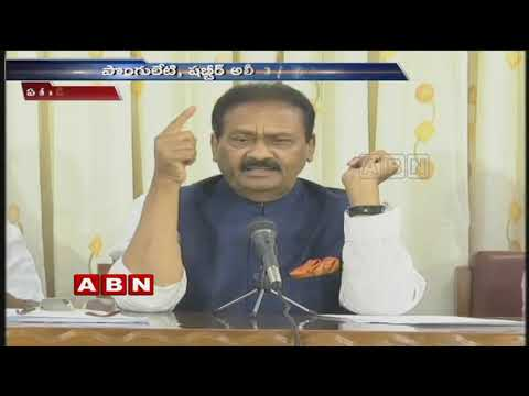 Congress Leaders Shabbir Ali and Ponguleti Sudhakar opposes Congress MLCs Joining TRS | ABN Telugu