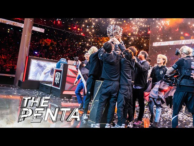 The Penta  FPX Top 5 Plays from 2019 Worlds Finals