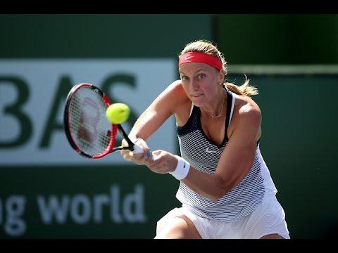 2016 BNP Paribas Open Second Round | Petra Kvitova vs Danka Kovinic | WTA Highlights