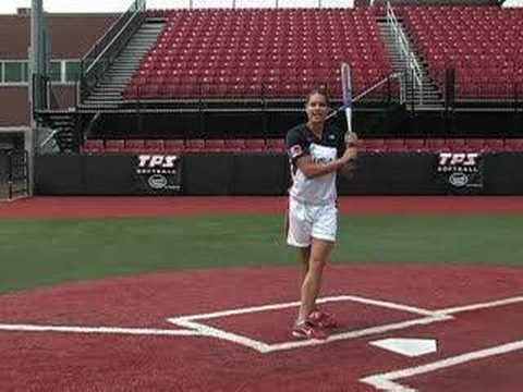 Jessica Mendoza Softball Training - HIT: Slapping - softball : Softball.com Video