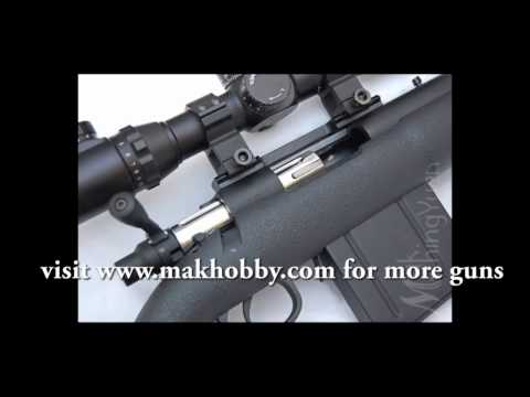 Crazy High Power Airsoft Sniper Rifle (Shell Ejecting) APS APM50