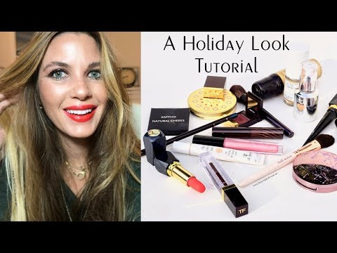 Holiday Beauty Tutorial: Featuring New Tom Ford + a Host of Fresh Beauty Discoveries