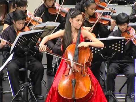 歐陽娜娜 Nana Ou Yang(12) Popper:Hungarian Rhapsody op.68 Concerto with Orchestra Feb.3,2013