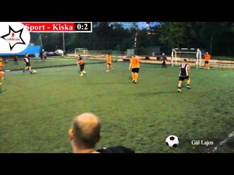 "Sport-Ing - Kiskapu 2:5 - ""VII. Újbuda Sportcentrum Live Soccer League"" 4.forduló - SZERDA"