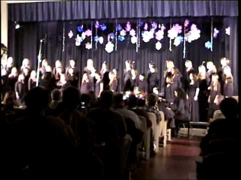 Sing for Joy -  Valley Central High School Choir. Accompanist Alba Vezuli