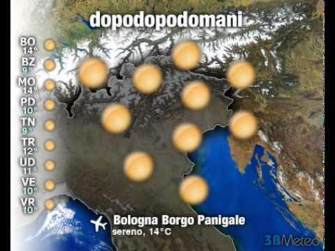 Meteo Italia a 3 giorni del 05/12/2011