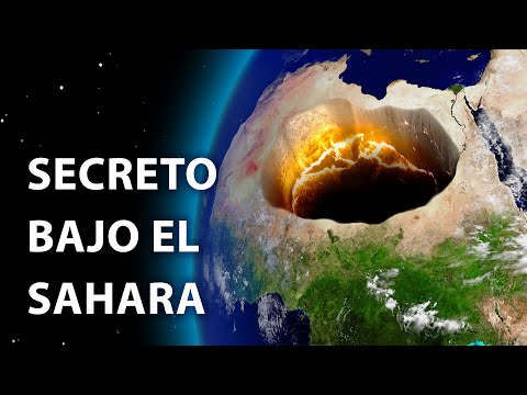 Algo enorme se esconde bajo el desierto del Sahara