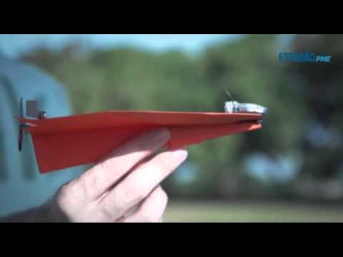 Aviãozinho de papel milionário