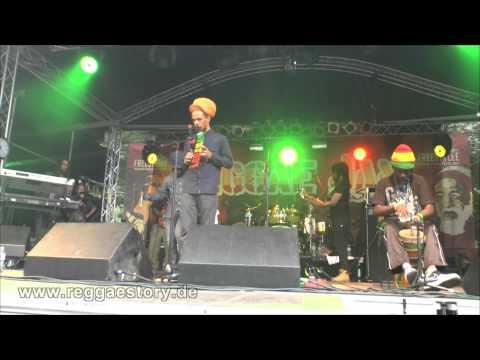 Jah Bami & The Suns Of Dub - My Life + Unconditional Love - Reggae Jam 2015