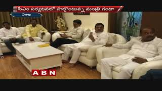 సర్వేతోనే మనస్థాపం | CM Chandrababu Phone Call To Minister Ganta Srinivasa Rao