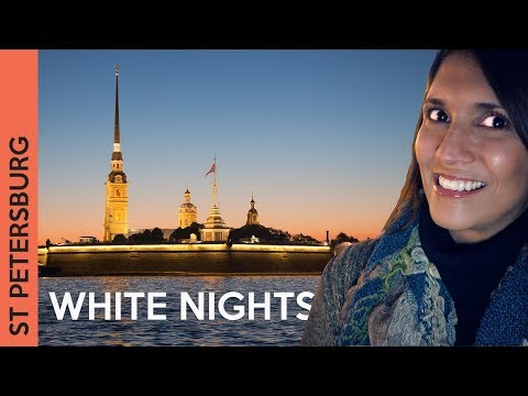 ST PETERSBURG, Russia White Nights: the BEST TIME to travel! 2017 (Vlog 1)