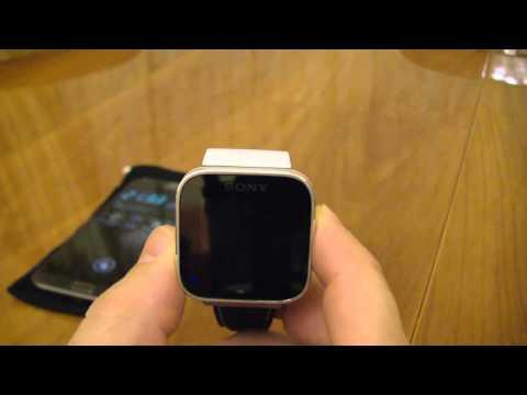 Обзор часов Sony SmartWatch (MN2)