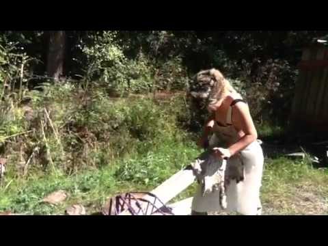 How to tan a raccoon hide