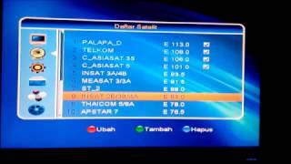 CARA SETTING PARABOLA PADA RECEIVER MATRIX BURGER MPEG4